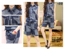 Jumpsuit Soft Jeans  #513
