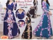 Gamis Spandeks Korea Flowy #663