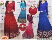 Gamis Bunga Spandeks Korea #6610