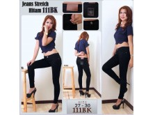 Jeans Stretch Hitam #111BK