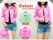 Jaket Jeans Pastel Colour #018