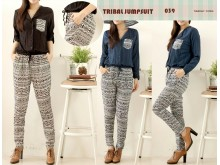 Jumpsuit Jogger Tribal #039