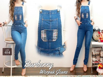 Jumpsuit Jeans Stretch #484 L/XL/XXL
