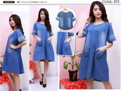 Dress Jeans Kombi Renda #075