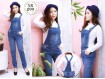Jumpsuit Jeans Stretch Basic #099 M L XL