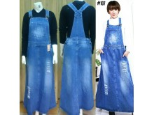 Jumpsuit Dress Jeans Robek #107 M/L/XL