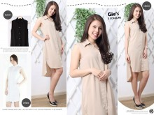 Kemeja Dress Cansee Import #1088