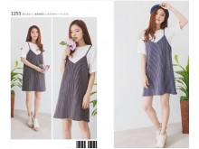 Dress Overall Korean Style#1253