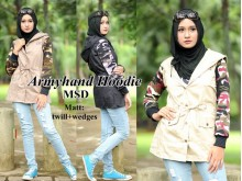 Parka Army Twill Wedges #140