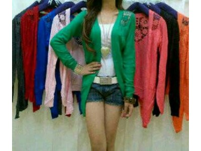 Cardigan Rajut Import #2344