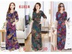Maxi Dress Korea Import #6181