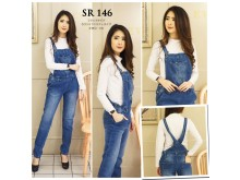 Jumpsuit Jeans Stretch #146 M/L/XL