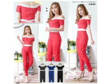 Jumpsuit Off Shoulder Sabrina #1490