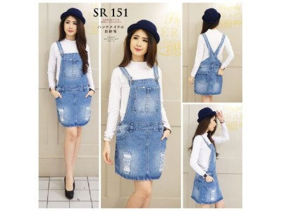 Overall Rok Jeans Robek #151 S/M/L