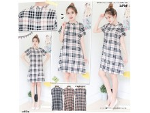 Casual Burberry Day Dress  #1595