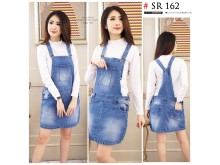 Rok Overall Jeans Stretch Jumbo #162 Xl 2Xl 3Xl