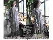 Gamis Stripes Spandex #5009