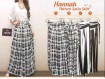 Rok Satin Motif Hitam Putih #19574