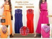 Maxi Dress Jeans Warna #230