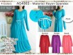 Gamis Tali Serut #4003