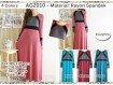 Gamis Kombinasi Warna XL #AG2010