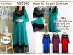 Gamis Rayon Spandeks XL #AG2008