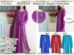 Gamis Rayon Spandeks XL #2014