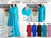 Gamis Rayon Spandeks XL #AG1007