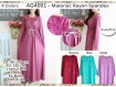Gamis Rayon Spandeks XL #4001a