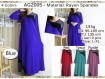 Gamis Rayon Spandeks XL #2005