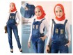 Jumpsuit Jeans Big Size #765 L/XL/2XL