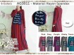 Gamis Arabian Rayon Spandex #3011