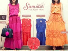 Dress Soft Jeans Warna #301