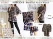 Atasan Tunik Katun Rayon XL #3048