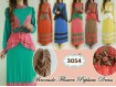 Gamis Peplum Jersey Katun #3054