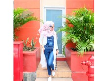 Jumpsuit Jeans Zip Pocket RIZMA #319 M/L/XL