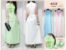 Dress Katun Import Bordir #328
