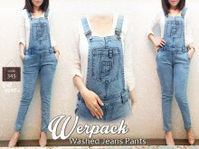 Jumpsuit Light Blue Wash #345 S/M/L/XL