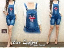 Jumpsuit Jeans Big England #392 M/L/XL