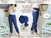 Celana Jogger Denim XL #4001c
