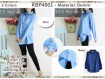 Kemeja Denim Fit L #4001b