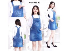 Overall Jeans Rok Basic #485 M/L/XL