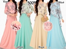 Dress Flower Pita tali #5005A