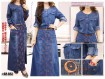 Gamis Jeans Motif #503