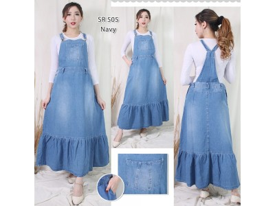 Jumpsuit Dress Jeans Esmeralda #505 M/L/XL