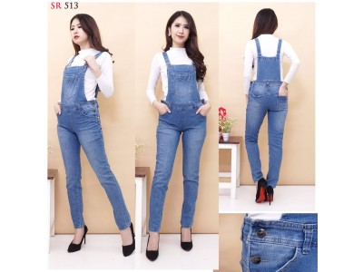 Jeans Overall Pants Back Cover #513 M/L/XL