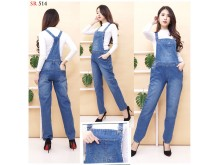 Overall Jeans Big Size #514 2XL/3XL/4XL
