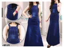 Overall Dress Jeans  #529 S/M/L