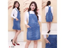 Rok Kodok Jeans Stretch #533 M/L/XL