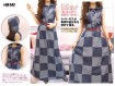 Dress Jeans Kotak Kapucon #542